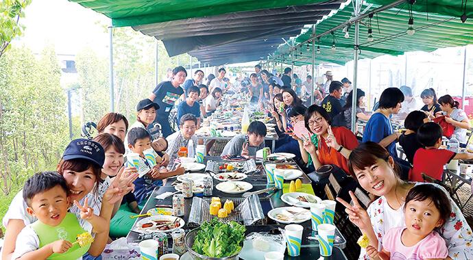 BBQ大会を埼玉県富士見市で開催