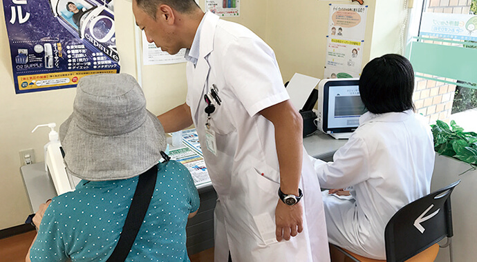 埼玉県富士見市パル薬局にて健康フェア