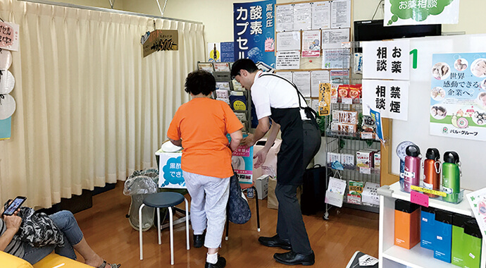 埼玉県富士見市にて健康フェアを開催