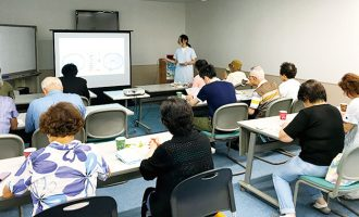 富士見市東みずほ台にてティータイム座談会を開催